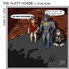 Cartoon: The Huffy Horde (small) by RyanNore tagged batman,robin,mob,horde,bs,angry