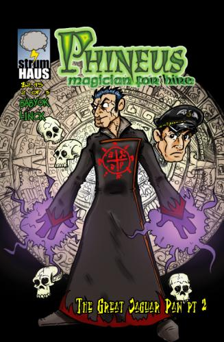 Cartoon: Phineus Magician for Hire (medium) by phinmagic tagged phineus,comic