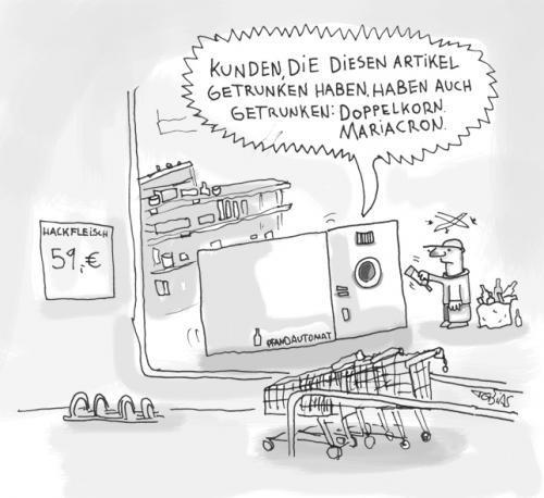 Cartoon: Pfand (medium) by Tobias Schülert tagged pfand,flasche,geld