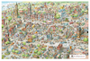Cartoon: Cartoon Map (small) by Nick Lyons tagged cartoonmap