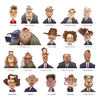 Cartoon: Famous People (small) by Amir Taqi tagged famous,people