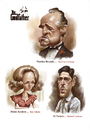Cartoon: The Godfather (small) by Amir Taqi tagged the,godfather