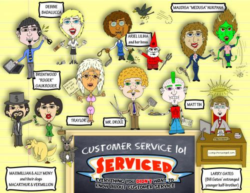 Serviced - Customer Service 101 By yusanmoon | Media