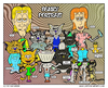 Cartoon: Family Portrait (small) by yusanmoon tagged cartoon,infinity,yu,san,moon,gonzo