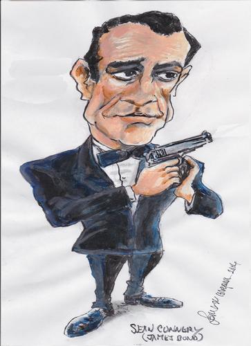James Bond By Jjjerk Famous People Cartoon Toonpool