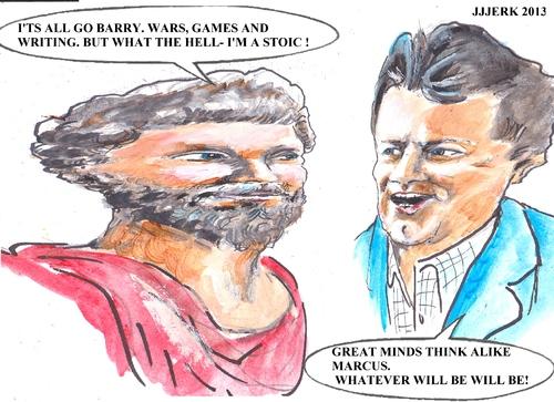 Stoic By Jjjerk Famous People Cartoon Toonpool
