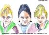 Cartoon: Children visit the the art class (small) by jjjerk tagged children visit coolock library art class three irish dublin germany