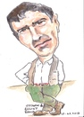 Cartoon: Elliot Gould (small) by jjjerk tagged gould elliott actor american jewish cartoon caricature green film