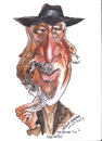 Cartoon: Morgan Freeman (small) by jjjerk tagged morgan freeman actor american cartoon caricature film star hat beard