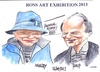 Cartoon: Ross Art (small) by jjjerk tagged ross,art,dublin,philip,ingolsby,artist,cartoon,irelad,irish,caricature