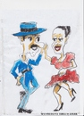 Cartoon: Spanish dance Tthree (small) by jjjerk tagged spain cartoon caricature dancers dance red blue hat