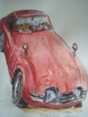 Cartoon: Toyota GT 2000 (small) by jjjerk tagged car cartoon james bond red japan
