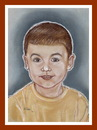 Cartoon: Cristi R (small) by Kidor tagged child,kidor