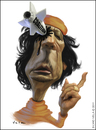 Cartoon: Muammar Gaddafi (small) by Silvio Vela tagged muammar,gaddafi,caricature,image,libya,dead,world,affairs,silvio,vela,otan