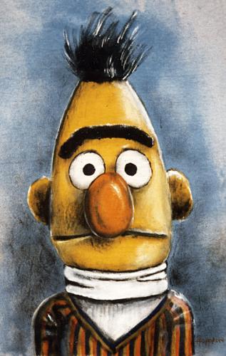 Bert By Hoppmann   Famous People Cartoon   TOONPOOL