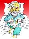 Cartoon: ALI FERZAT (small) by Hossein Kazem tagged ali,ferzat