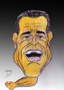 Cartoon: arnold schwarzenegger (small) by Hossein Kazem tagged arnold,schwarzenegger