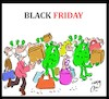 Cartoon: black friday (small) by Hossein Kazem tagged black,friday