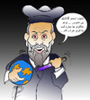 Cartoon: nostradamos (small) by Hossein Kazem tagged nostradamos