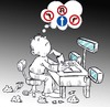 Cartoon: search for theme (small) by Hossein Kazem tagged search,for,theme