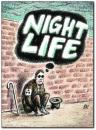 Cartoon: night life (small) by penapai tagged blind,life