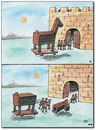 Cartoon: Troja (small) by penapai tagged trojan,horse