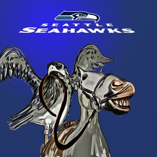 Cartoon: Go Seahawks (medium) by tonyp tagged arp,football,super,bowl,tonyp,arptoons