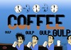 Cartoon: Coffee time (small) by tonyp tagged arp coffee time break buzz
