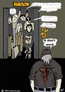 Cartoon: Elevator predigests (small) by tonyp tagged arp,elevator,arptoons,fat,people,rude