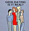 Cartoon: Geek Dating (small) by tonyp tagged arp,tonyp,arptoons,geeks,dating