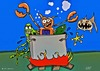 Cartoon: Hot Tub Party (small) by tonyp tagged arp,hot,tub,party,arptoons