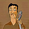 Cartoon: Hungry (small) by tonyp tagged arp,cd,music,tonyp,arptoons
