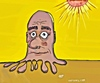 Cartoon: Melting in the sun (small) by tonyp tagged arp,tonyp,arptoons