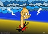 Cartoon: NO MORE WAR ISIS (small) by tonyp tagged arp,war,no,more