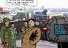 Cartoon: North Korea Mistake (small) by tonyp tagged arp,mistake,north,korea,officers
