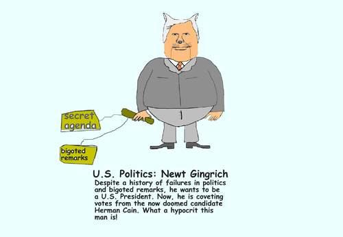 newt gingrich hypocrite