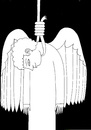 Cartoon: Every time a church bell rings (small) by baggelboy tagged angel,suicide,death
