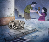 Cartoon: Abandono (small) by leandrofca tagged dog