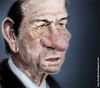 Cartoon: CARICATURA TOMMY LEE JONES (small) by leandrofca tagged caricature