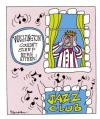 Cartoon: Sleepy time Joe (small) by daveparker tagged george,washington,noisy,jazz,no,sleep,