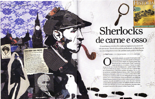 Cartoon: New illustration (medium) by juniorlopes tagged sherlock,illustration