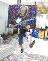 Cartoon: BB King from Brazil (small) by juniorlopes tagged bb,king