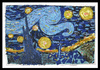 Cartoon: Starry Night (small) by juniorlopes tagged van,gogh,starry,night