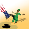 Cartoon: Oil pornography (small) by LeeFelo tagged oil,opec,nigeria,robbery