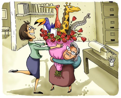 Surprise By Marcelo Rampazzo Love Cartoon Toonpool