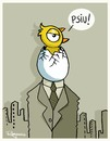 Cartoon: PSIU! (small) by Marcelo Rampazzo tagged city