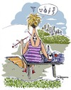 Cartoon: Snakes and knifes (small) by Marcelo Rampazzo tagged women,love,married,relations