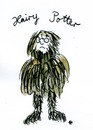 Cartoon: Hairy Potter VIII (small) by Florian France tagged harry,potter,und,die,heiligtümer,des,todes,and,the,deathly,hallows