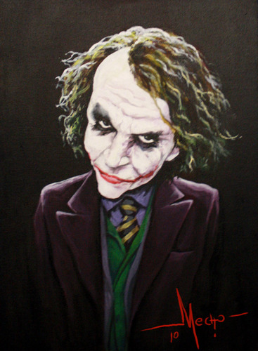 Cartoon: Joker (medium) by Mecho tagged joker