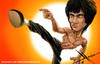 Cartoon: Bruce Lee (small) by Mecho tagged bruce,lee,caricature,caricatura